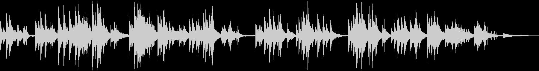 ジングルベル しっとりジャズピアノの未再生の波形