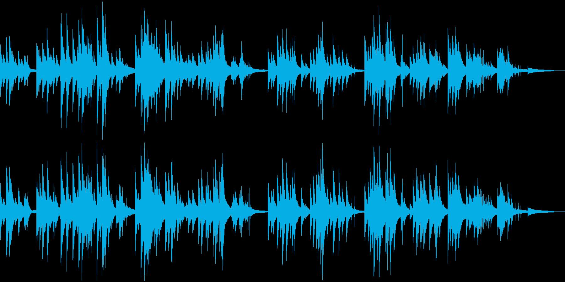 ジングルベル しっとりジャズピアノの再生済みの波形