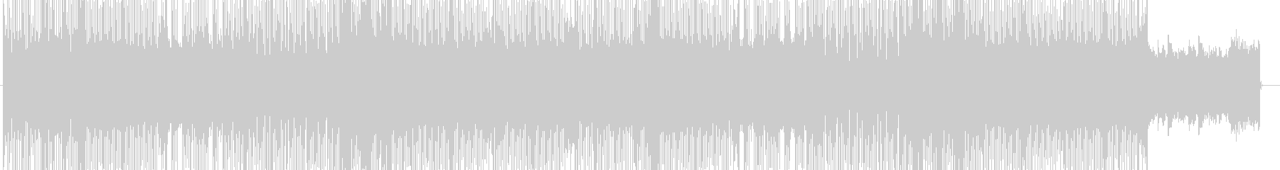 「HR/HM」「ROCK」BGM186の未再生の波形