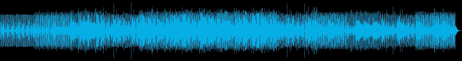 プログレッシブハウス。ループ溝と周...の再生済みの波形