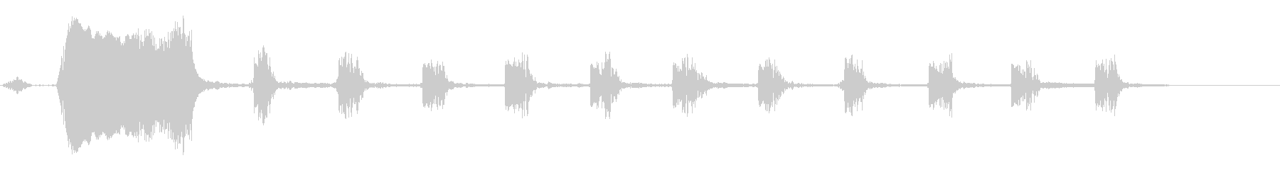 KANTコケーコッコ自主規制音6の未再生の波形