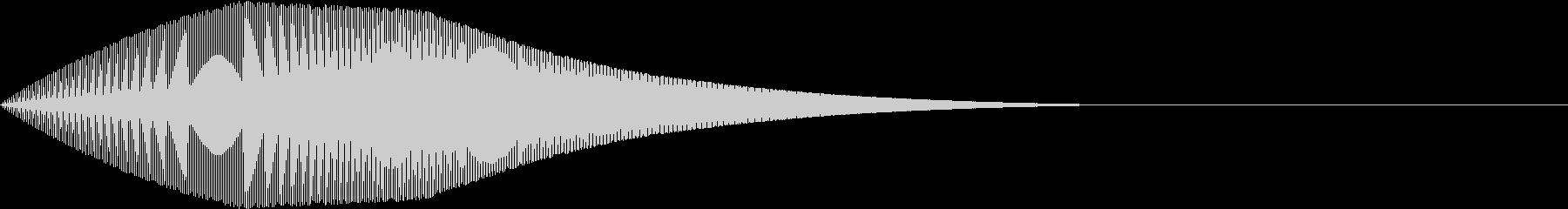 Mario マリオ風ジャンプ音 2の未再生の波形