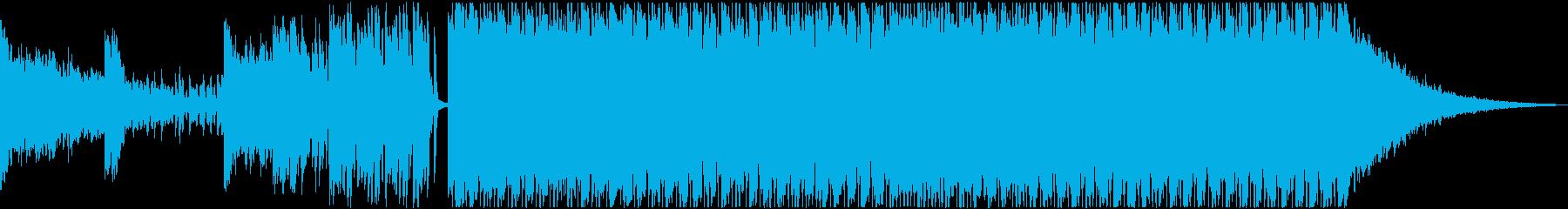 登場&入場シーン、サイケデリックトランスの再生済みの波形