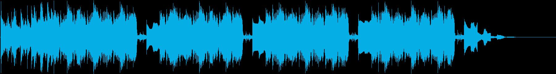 tiktokで使えるEDM曲の再生済みの波形