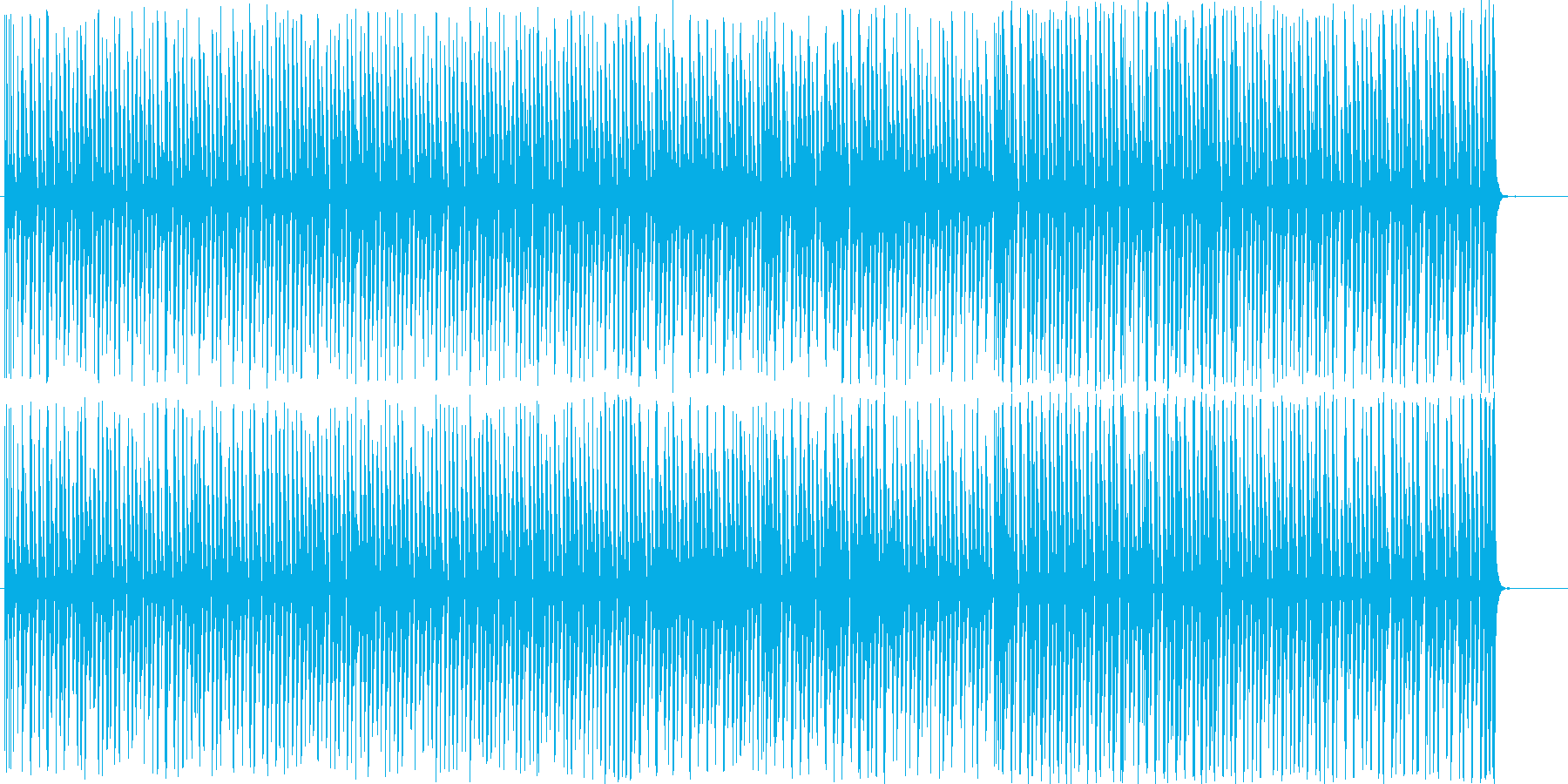 ピコピコ、かわいい、コミカル、脱力系の再生済みの波形