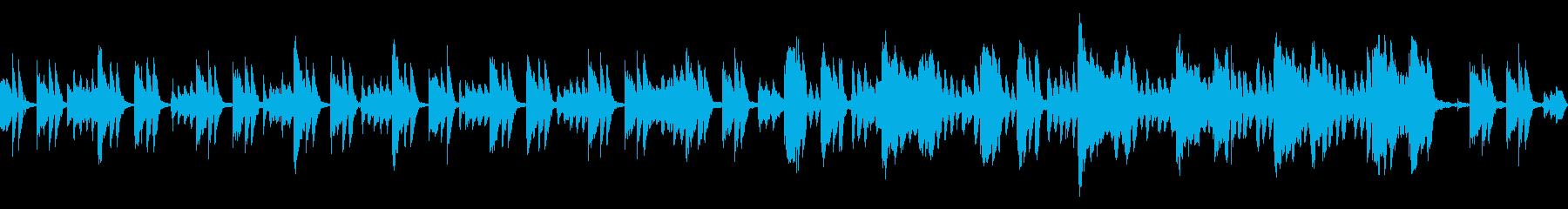 日常会話のバックで流れてそうなループ曲の再生済みの波形