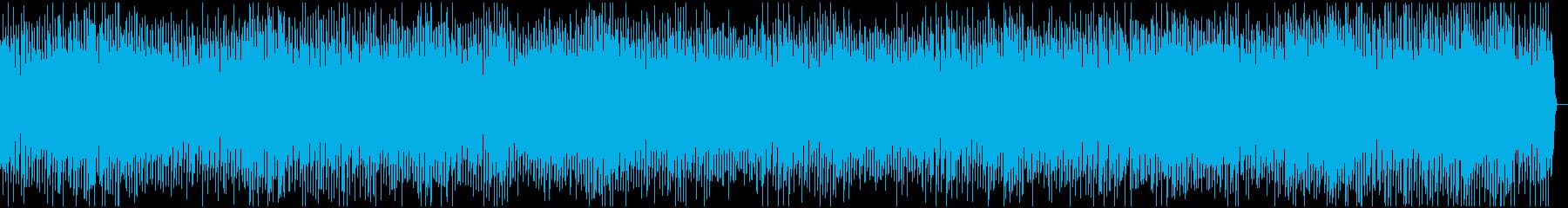 疾走感のある賑やかで明るいBGM の再生済みの波形