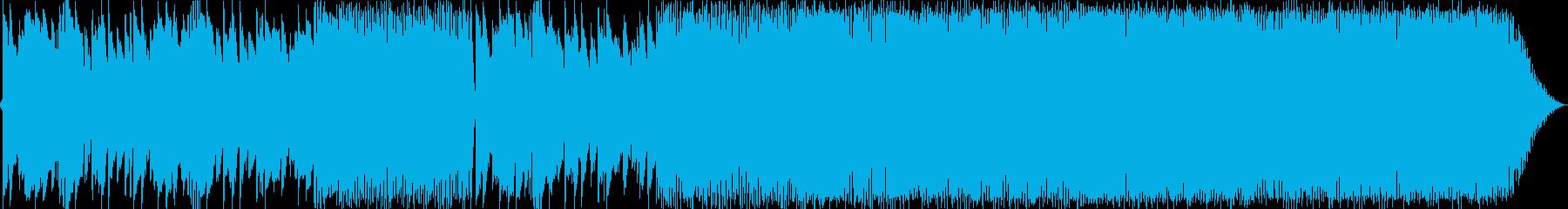 XYZの再生済みの波形