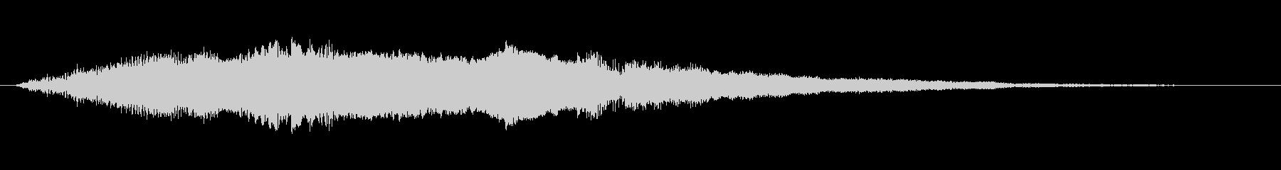 工業 ソフトメタルキーキーシンセ04の未再生の波形
