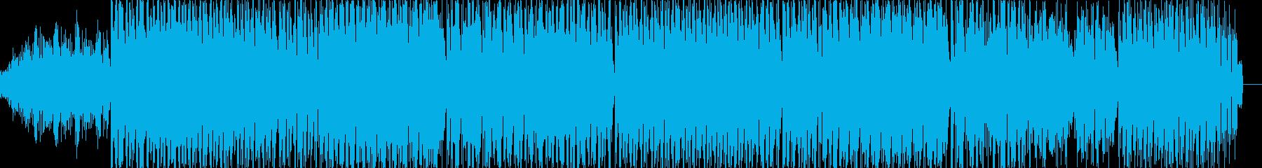 ミステリアスで音色が綺麗なメロディーの再生済みの波形