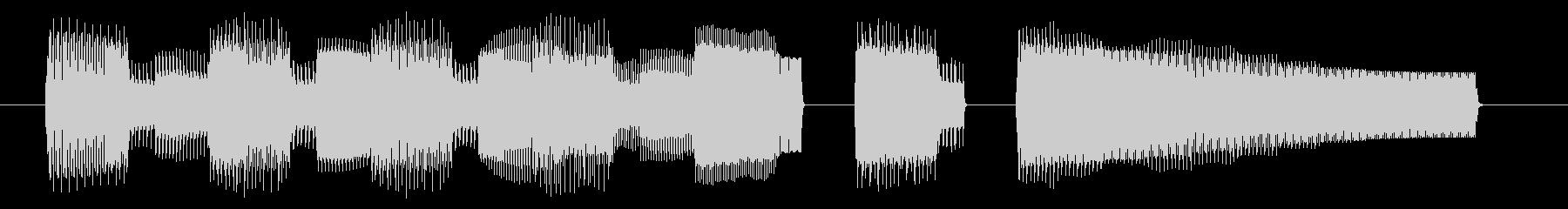 NES 和風 A06-2(クリア2)の未再生の波形