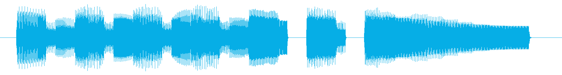 NES 和風 A06-2(クリア2)の再生済みの波形
