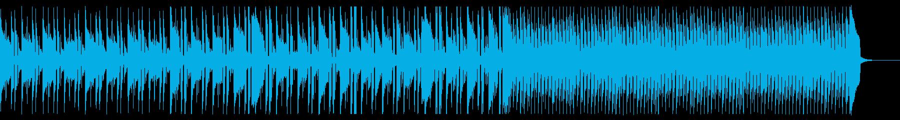 のんびり、爽やかシンプルの再生済みの波形