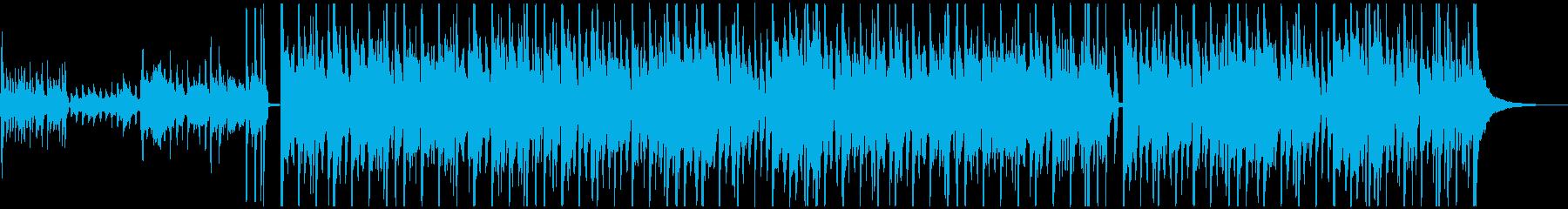 哀愁帯びたジブシー、スウィングジャズの再生済みの波形