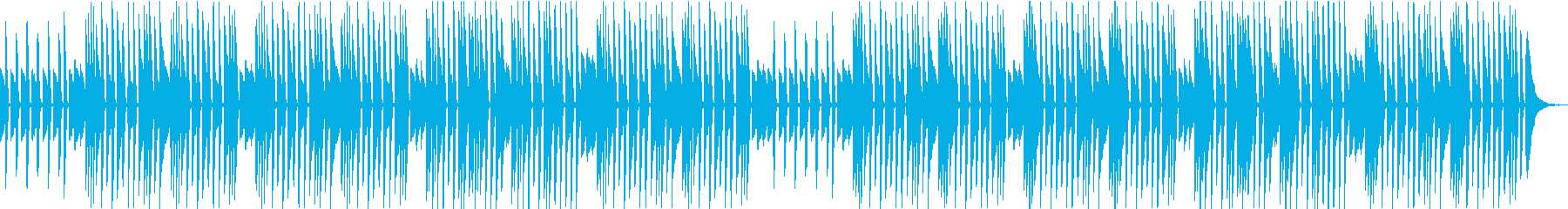 日常、会話、ほのぼの、ピアノの再生済みの波形