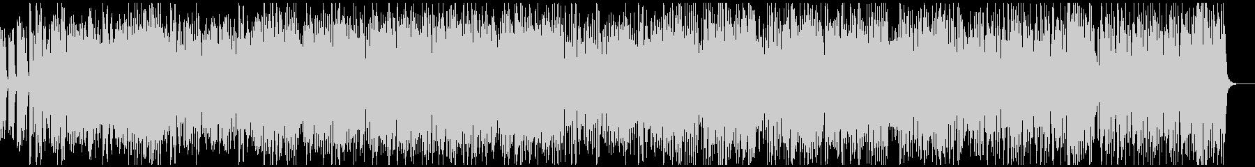 ピアノソロ 明るいリズミカルなラグタイムの未再生の波形