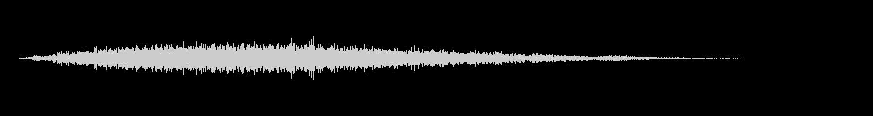 アクセント:音楽ノート、スペース、...の未再生の波形