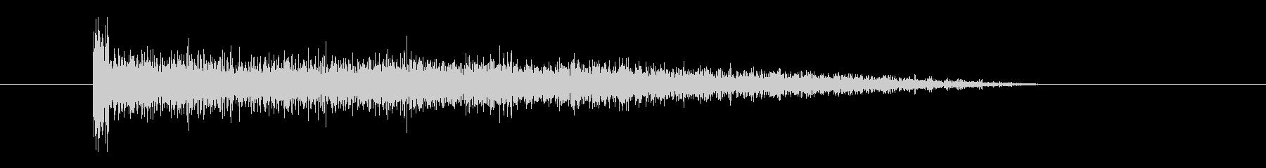 レーザー音-67-3の未再生の波形