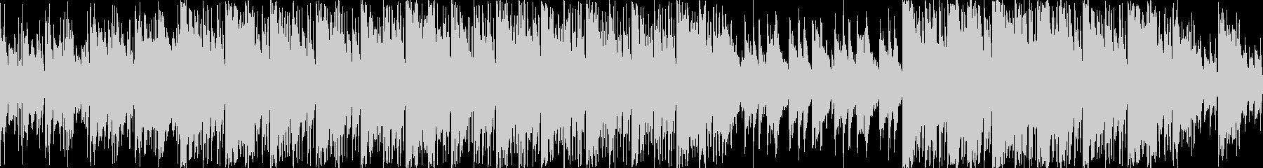 ワイルドで渋い和風エピックBGM ループの未再生の波形