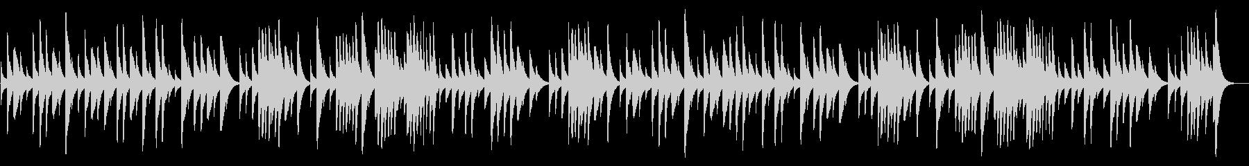 ショパンのノクターン 18弁オルゴールの未再生の波形