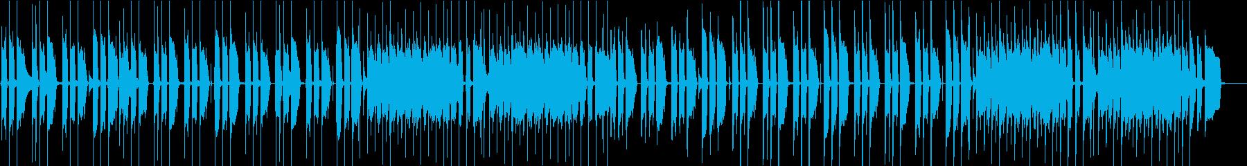 日常・ほのぼの・カントリーギターの再生済みの波形