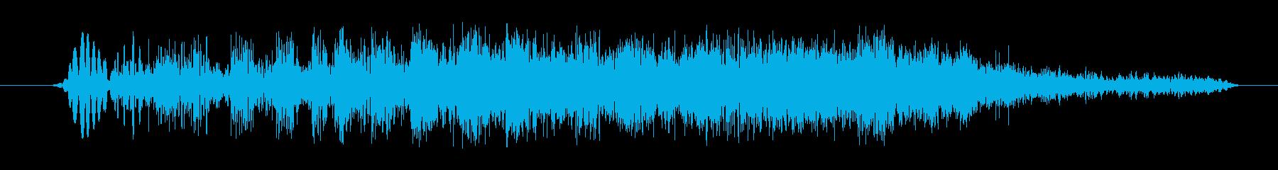 スタッターザップの再生済みの波形