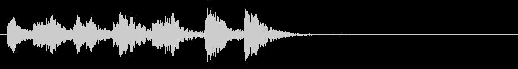 のほほんジングル009_おとぼけ-3の未再生の波形