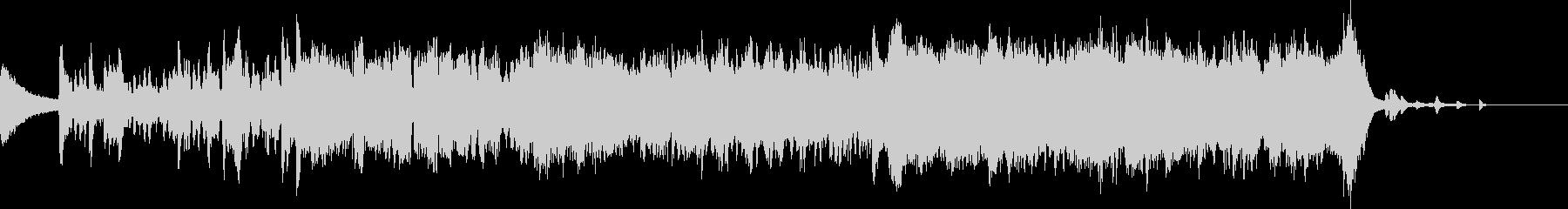 アジア 壮大なフルオーケストラ 二胡の未再生の波形