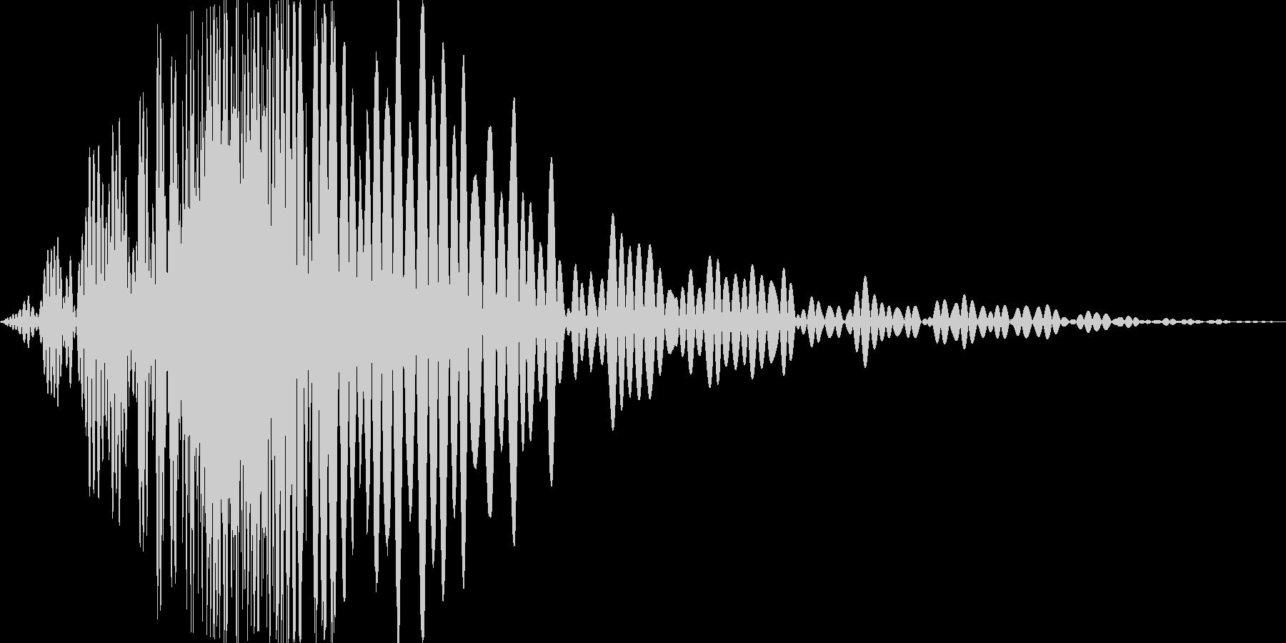 風切り音 格闘 素振り 大_01の未再生の波形