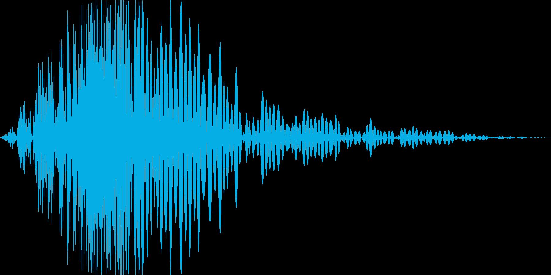 風切り音 格闘 素振り 大_01の再生済みの波形