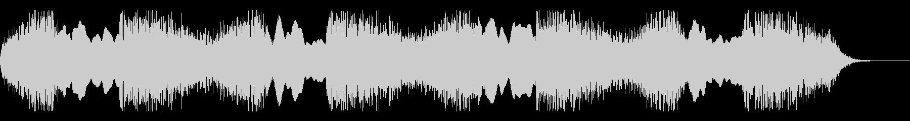 パトカー サイレン音の未再生の波形