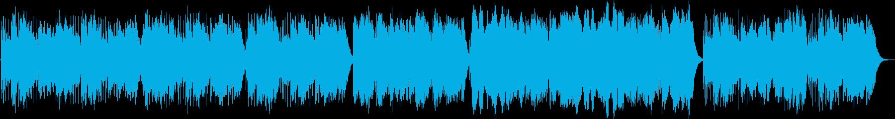 明るく軽やかなオルゴール曲です。の再生済みの波形