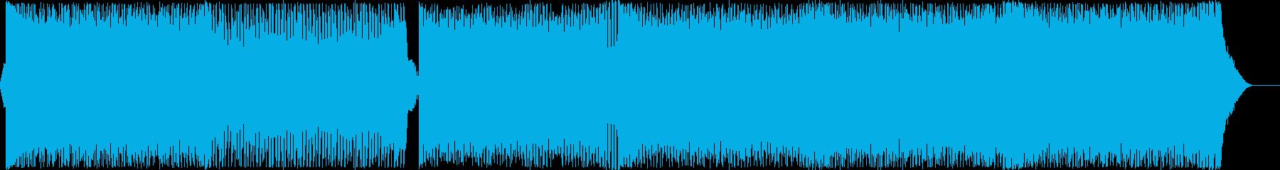 爽やかで疾走感のあるEDM Vo無の再生済みの波形