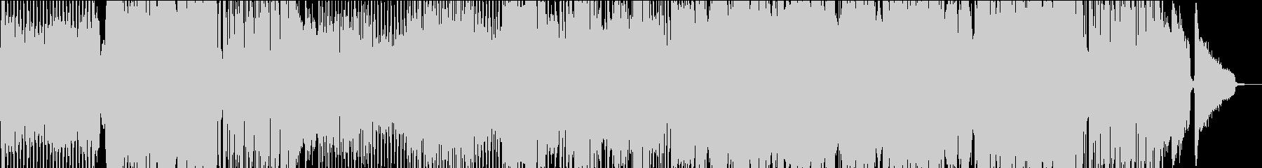 キャッチーなJ-POP風インストテーマの未再生の波形