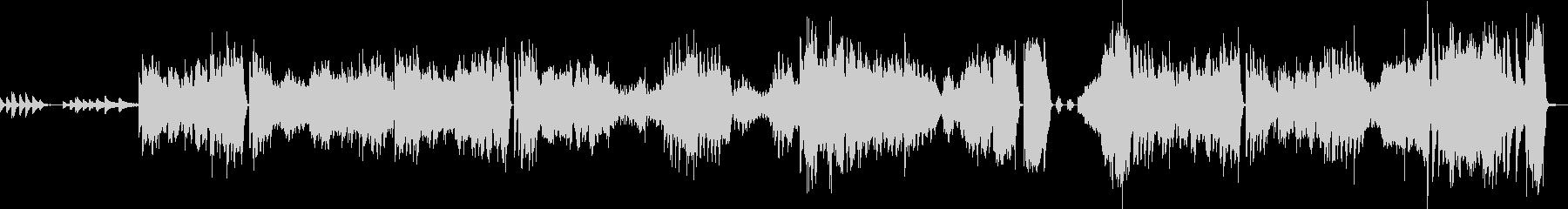 ショパン エチュード Op25 No11の未再生の波形