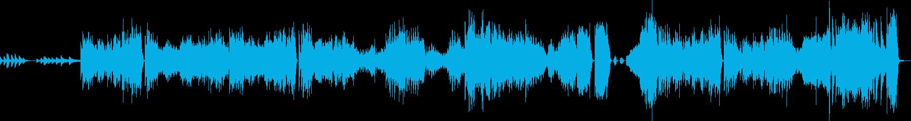 ショパン エチュード Op25 No11の再生済みの波形