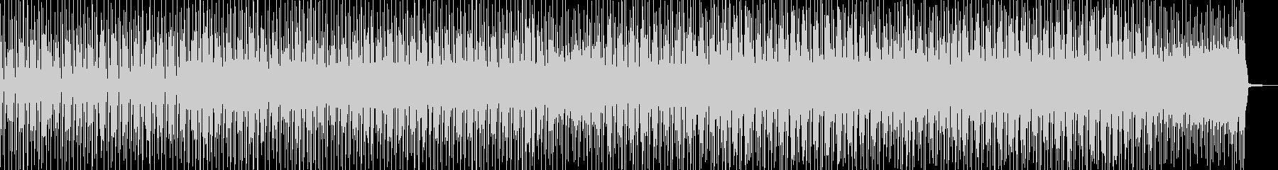 徐々に賑わう動画に・2部構成ポップス Dの未再生の波形