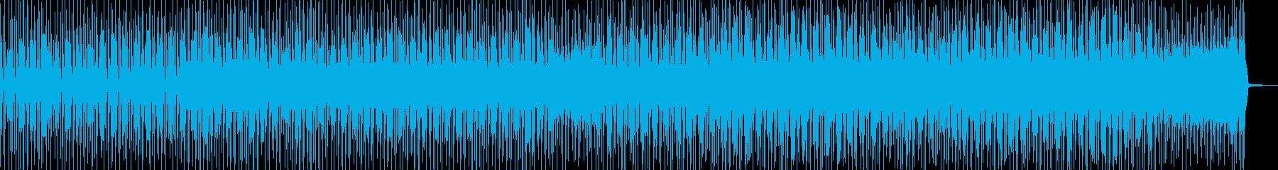 徐々に賑わう動画に・2部構成ポップス Dの再生済みの波形
