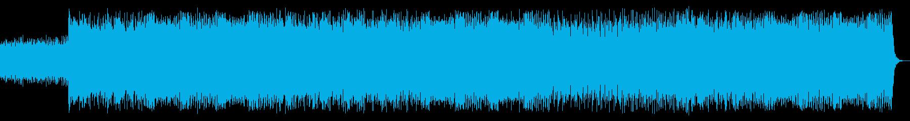 EDM近未来ダークエレクトロダンスビートの再生済みの波形