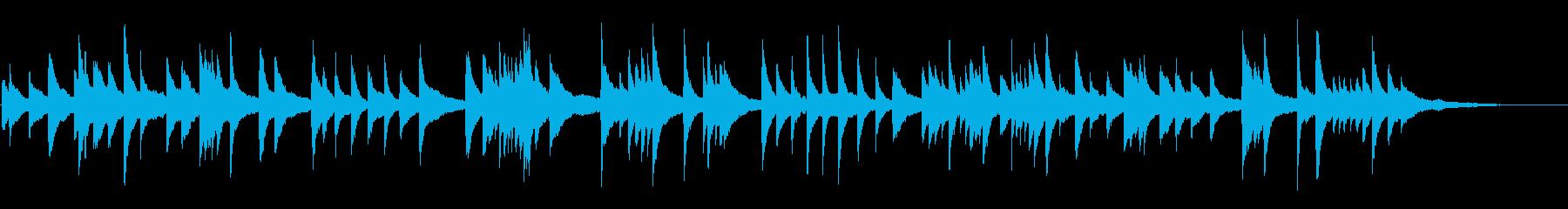 ★★叶わぬ恋に落ちた学生の❤脳内ピアノ曲の再生済みの波形