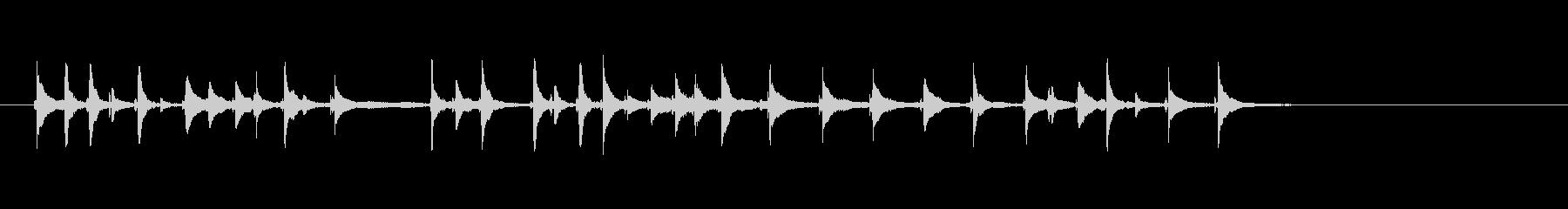 三味線46娘道成寺25日本式レビューショの未再生の波形