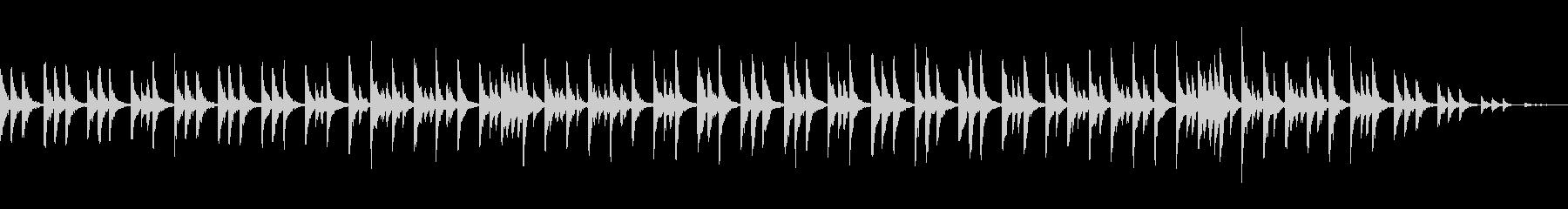 静かなピチカートストリングスの未再生の波形
