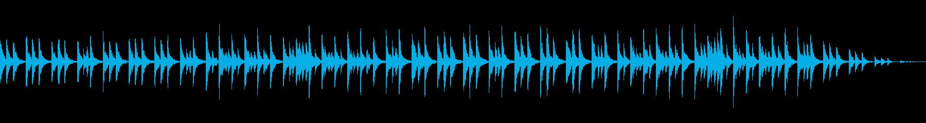 静かなピチカートストリングスの再生済みの波形