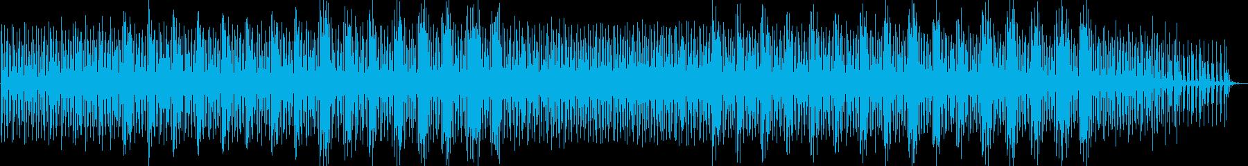 アンビエント、ニューエイジ風の音楽...の再生済みの波形