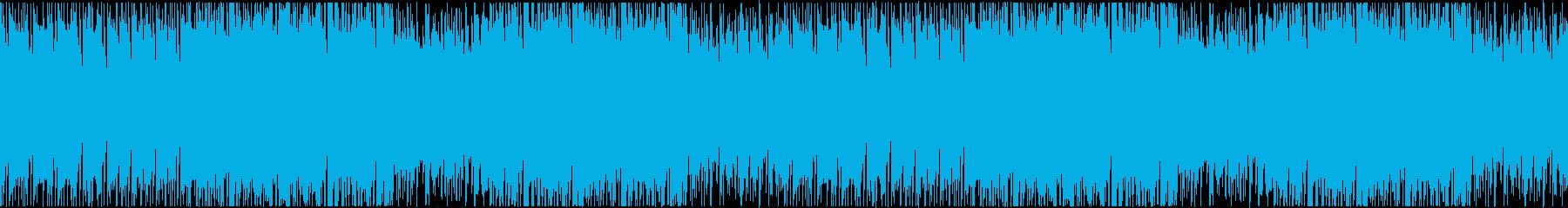 臨場感あふれるシンプルな和太鼓ビートの再生済みの波形