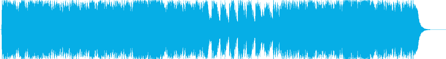 Pirate Hollywood Movie: Profound Chorus Orchestra's reproduced waveform