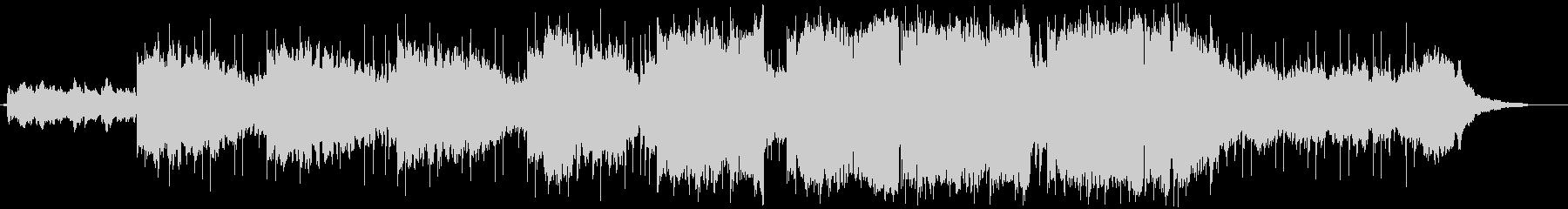 ハードボイルドな切ない曲の未再生の波形