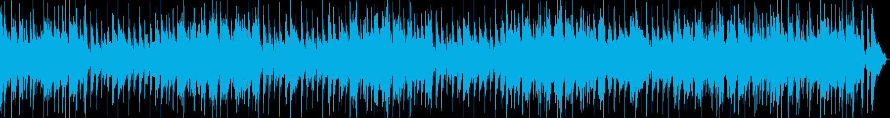 映像や企業VPピアノボサノバストリングスの再生済みの波形