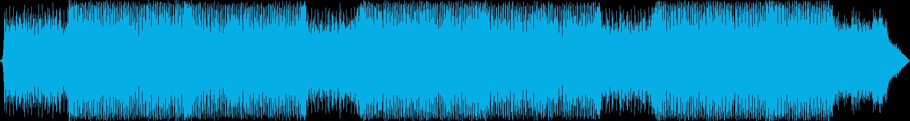 夏の映像に合う爽やかなトロピカルハウスの再生済みの波形