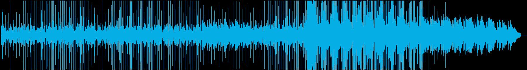 ギターのチルアウトリフが特徴のビートの再生済みの波形